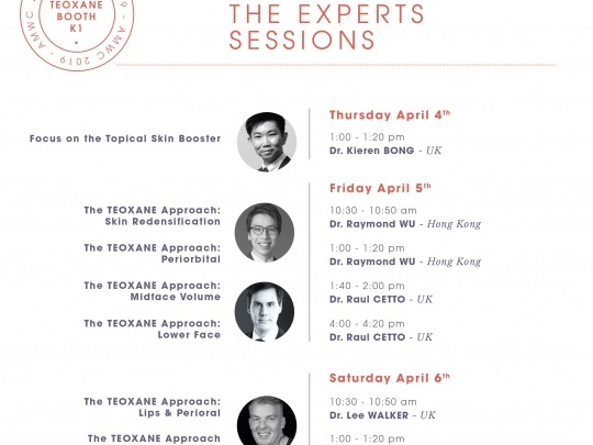 Meet the experts sessions